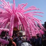 美濃市祭礼花みこし