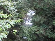 2段の滝①